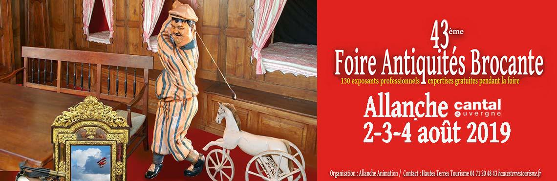 Salon Antiquités Brocante Allanche 2019