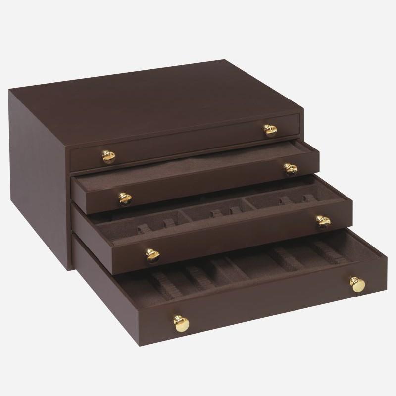 coffret menagere 182 pieces 4 tiroirs ecrin argenterie. Black Bedroom Furniture Sets. Home Design Ideas